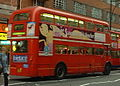 Arriva London Routemaster bus RML2636 (NML 636E), route 137, Oxford Street, 24 December 2003 (2) cropped.jpg