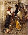 Artgate Fondazione Cariplo - Favretto Giacomo, La pollivendola.jpg