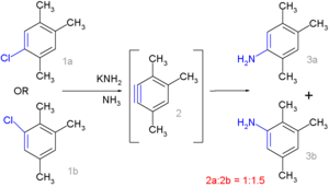 Radical-nucleophilic aromatic substitution - AryneReaction Bunnett 1970
