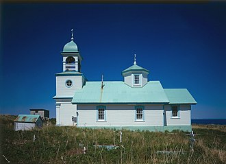 National Register of Historic Places listings in Kodiak Island Borough, Alaska - Image: Ascension of Our Lord Russian Orthodox Church (Karluk, Alaska)