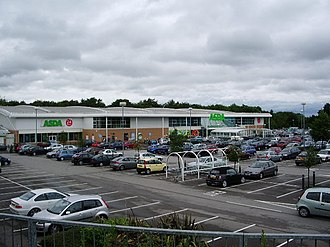 Clayton-le-Woods - Image: Asda, Clayton Green geograph.org.uk 467649