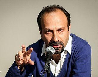 The Salesman (2016 film) - Image: Asghar Farhadi in Fajr International Film Festival 01