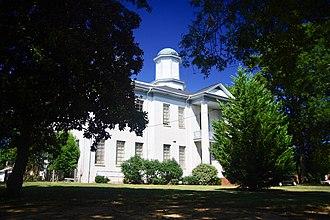 Ashland, Mississippi - Old Benton County Courthouse