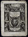 Astronomy; the allegorical titlepage to frisicae lunae-solar Wellcome V0024840.jpg