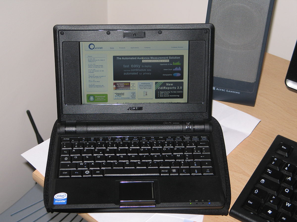 ASUS Eee PC - Easy to Learn, Easy to Work, Easy to Play