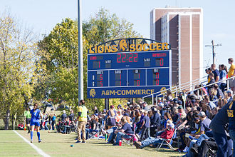 Texas A&M–Commerce Lions women's soccer - Lion Soccer Field as it appeared during the 2014 season