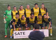9443a96e260b5 Club Atlético de Madrid Femenino - Wikipedia