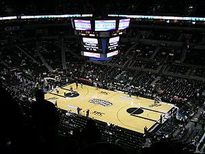 Das AT&T Center in San Antonio