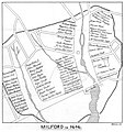 Atwater1881 p176 Map Milford in 1646.jpg