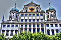 Augsburg Rathaus, Blick vom Elias Holl Platz (8545126054).jpg