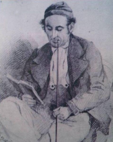 Tekening van August Piepenhagen