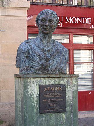 Ausonius - Image: Ausone Buridigala
