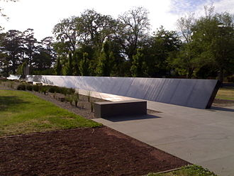 Australian Ex-Prisoners of War Memorial - The row of names of all known Australian POWs