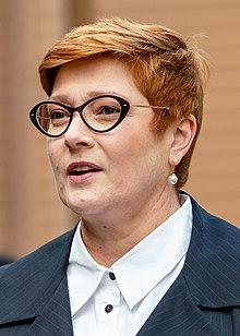 Australian Foreign Minister Marise Payne (48449521096) (cropped).jpg