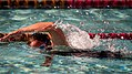 Australian army Sgt. Sarah Webster, with the Australian wounded warrior team, swims laps during the 2012 Marine Corps Trials at Marine Corps Base Camp Pendleton, Calif., Feb. 15, 2012 120215-M-AR635-102.jpg