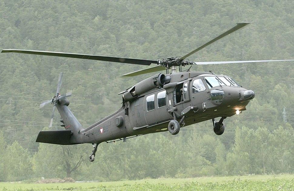 Austrian Air Force S-70A42