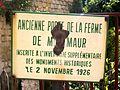 Auvers-sur-Oise (95), ancienne porte de la ferme de Montmaure, inscrite MH, 30.06.2012 02.jpg