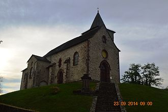 Auzits - The Church of Saint Maurice