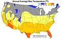 Average Annual High Temperature of the United States.jpg