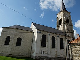 The church in Avesnes-le-Sec