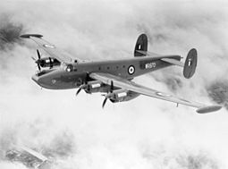 RAF:n Avro Shackleton MR.3 vuonna 1955
