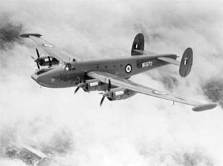 Avro Shackleton British long-range maritime patrol aircraft