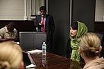 Awardee of the International Women of Courage visits 3rd MAW 150309-M-XW721-005.jpg