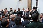 Ayatollah Ali Khamenei & Khatam al-Anbia Commanders 01.jpg