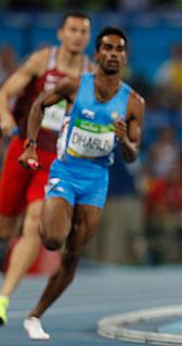 Dharun Ayyasamy Indian track athlete