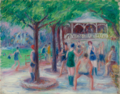 BATHERS AT PLAY, STUDY -2.PNG