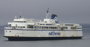 Burnaby-class ferry - Image: BC Ferries Queen of Burnaby
