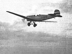 BFW M.27 - Image: BFW M 27 from Flight Global Archive