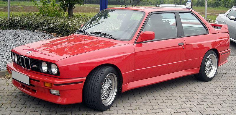 Timeline of BMW M3