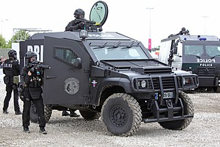 Elite police special units of the French Ministry of the Interior
