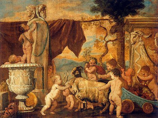 Bacchanale d'enfants - Nicolas Poussin - Palazzo Barberini