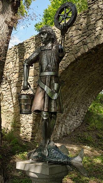 Rod (Slavic religion) - Statue of Krodo erected in Bad Harzburg, Lower Saxony, in 2007.