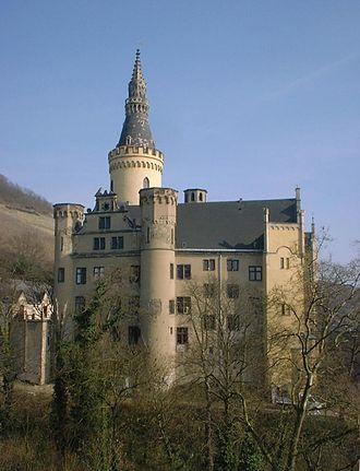 Bad Hönningen - Bad Hönningen Arenfels castle