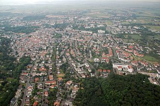 Bad Nauheim - Aerial view