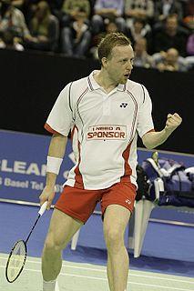Thomas Laybourn Badminton player