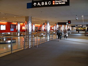Baggage claim at the baltimore airport Source:...