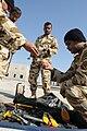Bahraini Royal Field Engineers prepare for recovery scenario 2009-01-15.jpg