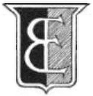 Baker Motor Vehicle - Baker Electrics logo, 1912