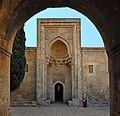 Entrance of a large mausoleum