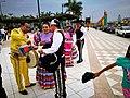 Ballarins del grup mexicà Espíritu Mexicano al Festichincha 2017 02.jpg