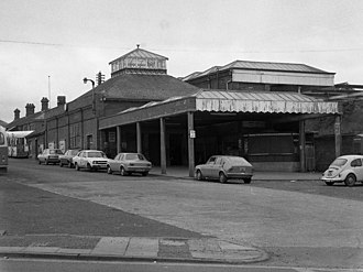 Ballymena railway station - Station exterior