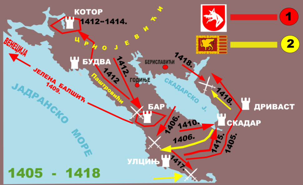 Balsa III od 1405 do 1418