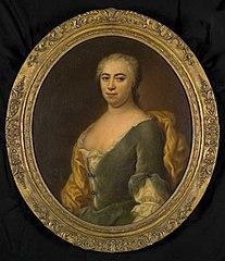 Portret van Maria Anna Witheyn (1686-1763)