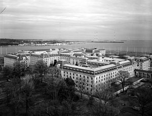 James L. Holloway Jr. - Bancroft Hall, United States Naval Academy, Annapolis, Maryland.