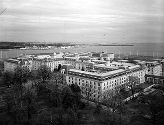 James L. Holloway Jr. - Bancroft Hall, United States Naval Academy, Annapolis, Maryland.