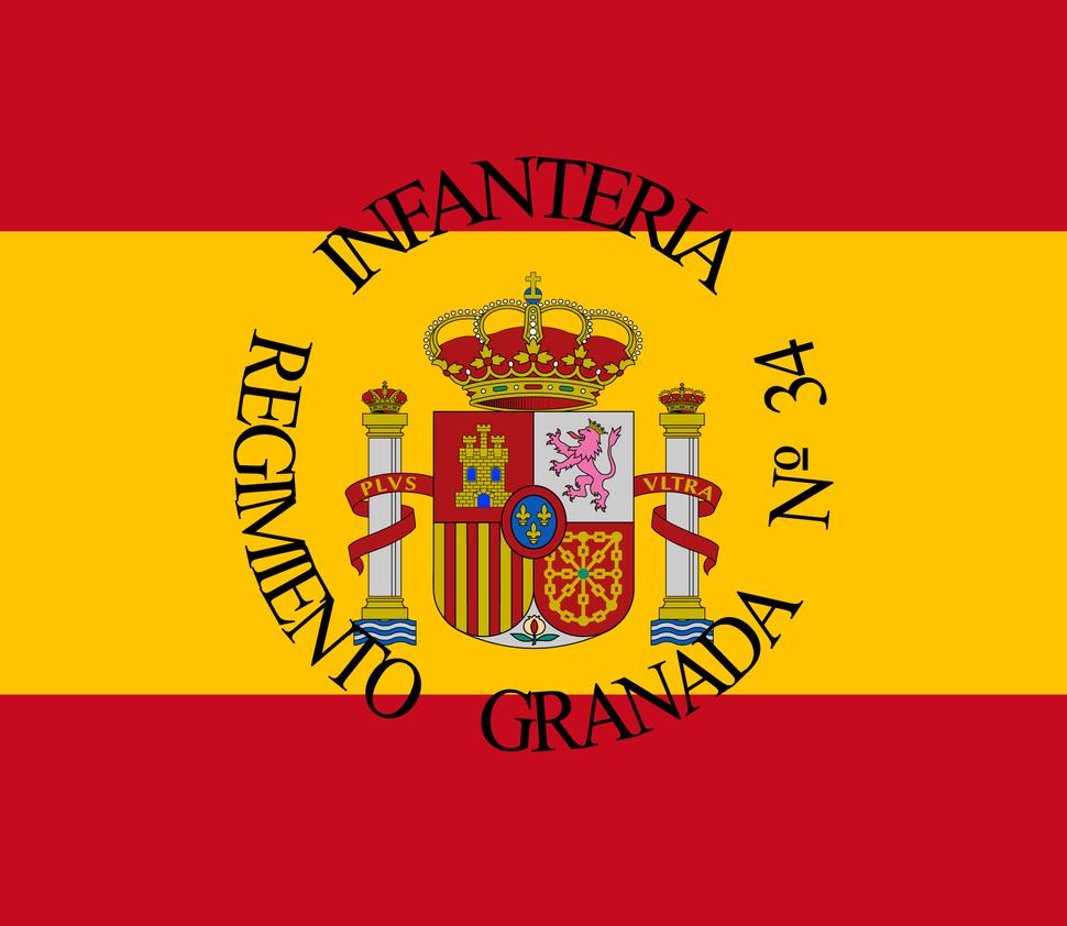 Bandera de Unidad Militar espa%C3%B1ola